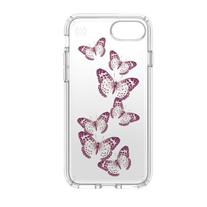 official photos 43603 47692 Speck® Presidio™ CLEAR Hard Case For Apple® iPhone® 7, Butterflies Item #  572801