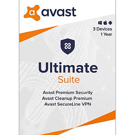 Avast Ultimate Security 2020  3 Devices 1 Years   Download