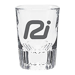 Clear Shot Glass With Textured Bottom