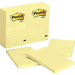 Post it Notes 4 in x