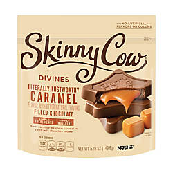 Skinny Cow Divines Chocolates Caramel Filled