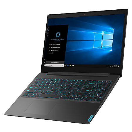 "Lenovo™ IdeaPad™ L340 Gaming Laptop, 15.6"" Screen, 9th Gen Intel® Core™ i5, 8GB Memory, 256GB Solid State Drive, Windows® 10 Home, NVIDIA® GeForce® GTX 1650, 81LK000HUS"