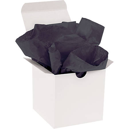 """Office Depot® Brand Gift-Grade Tissue Paper, 15"""" x 20"""", Black, Pack Of 960"""