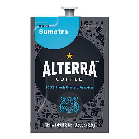 MARS DRINKS™ FLAVIA® Coffee ALTERRA® Sumatra, Freshpacks, Box Of 100