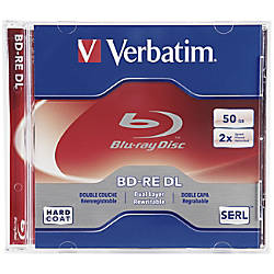 Verbatim BD RE DL 50GB 2X