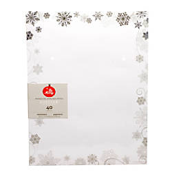 Gartner Studios Foil Stationery Sheets Christmas