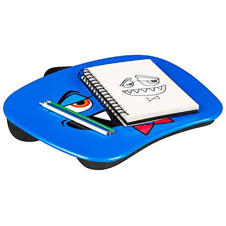 """LapGear MyMonster Lap Desk, 17"""" x 13-1/4"""", Blue"""