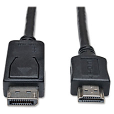 Tripp Lite 6ft DisplayPort to HDMI