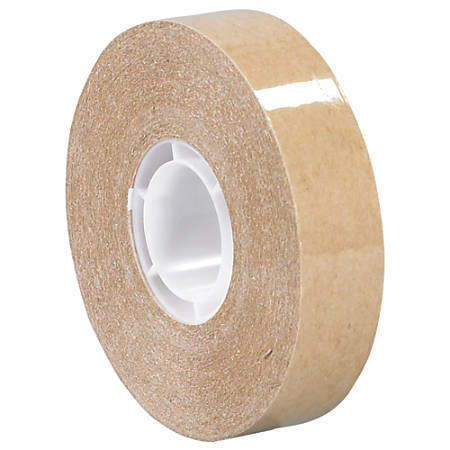 "3M™ 987 Adhesive Transfer Tape, 1"" Core, 0.5"" x 36 Yd., Clear, Case Of 6"