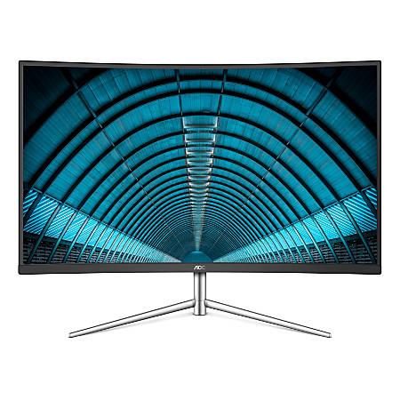 """AOC 31.5"""" Full HD LED Monitor, Curved Bezel, VESA Mount, C32V1Q"""