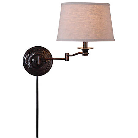 "Kenroy Home Wall Lighting, Wall Lamp, 16""H x 14""W, Bronze"
