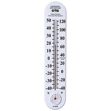 Learning Advantage Indoor/Outdoor Classroom Thermometer