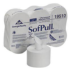 SofPull 2 Ply Centerpull Bathroom Tissue