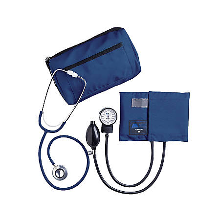 MABIS MatchMates® Home Blood Pressure Kit, Royal Blue