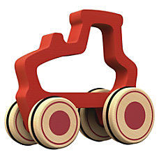 BeginAgain Toys Push Around Tractor Toy