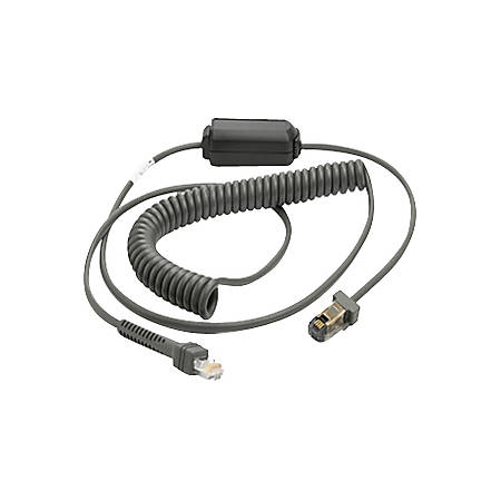 Zebra Coiled Cable