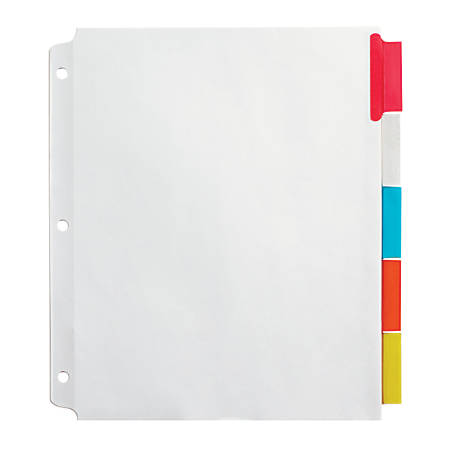 office depot brand insertable extra wide