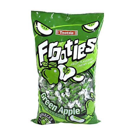 Tootsie Frooties, Green Apple, 360 Pieces