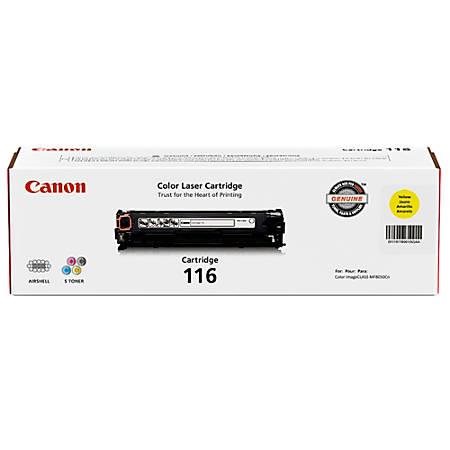 Canon 116, Yellow Toner Cartridge (1977B001AA)
