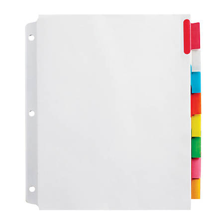 dividers for school at office depot officemax