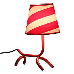 Lumisource Woof Lamp 14 H Red