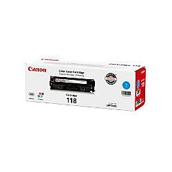 Canon 118 Cyan Toner Cartridge 2661B001AA