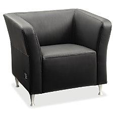 Lorell Fuze Modular Lounge Chair Leather