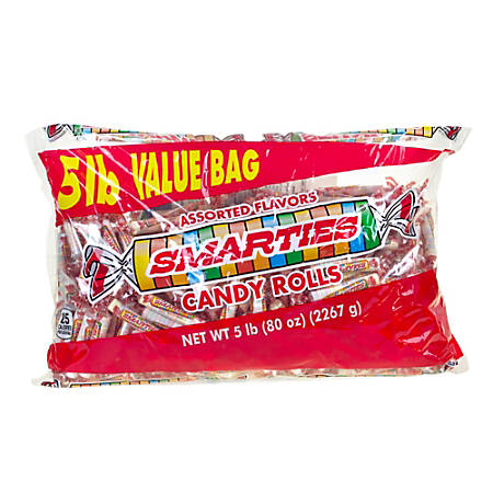 Smarties Wrapped Candies, 5-Lb Box
