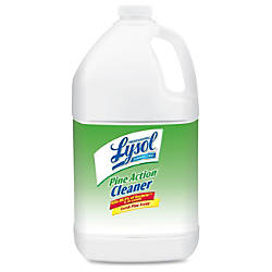 Lysol Disinfectant Pine Action Cleaner Concentrate
