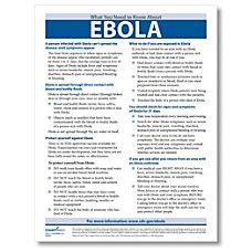 ComplyRight Ebola Employee Awareness Handouts 8