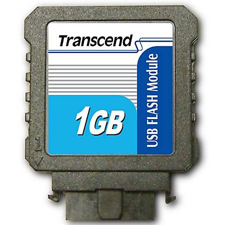 Transcend 1GB USB 2.0 Flash Module (Vertical) - 1 GB - USB