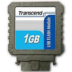 Transcend 1GB USB 20 Flash Module