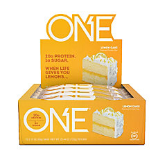 ONE Lemon Cake Protein Bars 212