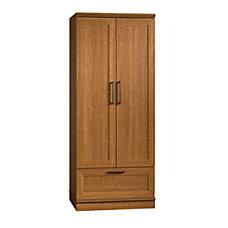 Sauder HomePlus WardrobeStorage Cabinet Sienna Oak