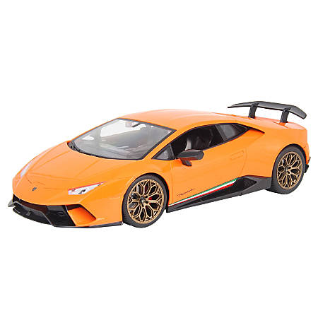 Braha 1:14 Scale Lamborghini Remote-Control Car, Orange