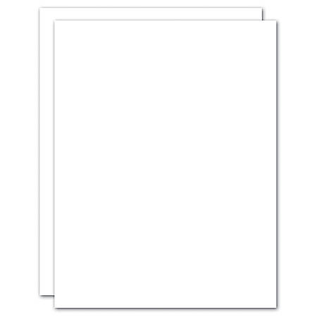 "Blank Stationery Second Sheets For Custom Letterhead, 24 Lb, 8-1/2"" x 11"", 100% Recycled, White, Box Of 500"