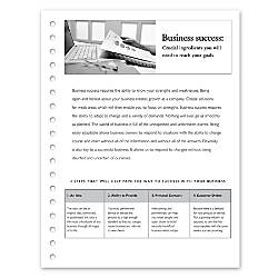 Xerox Vertical Perforated Paper 1 Part