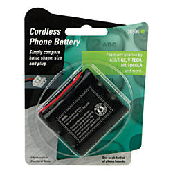 Jasco TL26506 Rechargeable Cordless Phone Battery