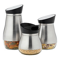 Riley Co 3 Piece Pourable Canister