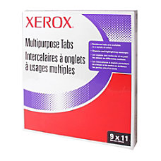 Xerox 51004135 Straight Collated Copier Tabs