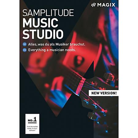 MAGIX Samplitude Music Studio, Download Version