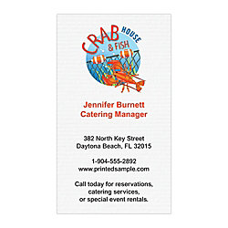 Full color textured print business cards 3 12 x 2 white laid by full color textured print business cards 3 12 x 2 reheart