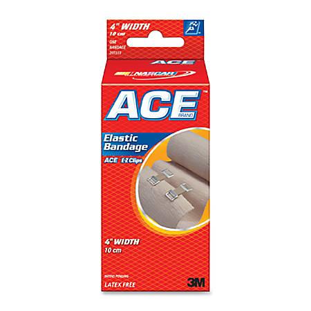 """ACE Elastic Bandage with E-Z Clips, 4"""" 1 Bandage"""