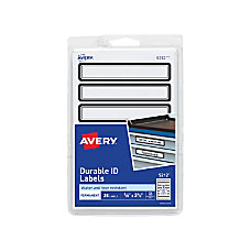 Avery Durable ID Labels 5212 58
