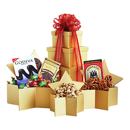 Givens Holiday Superstar Gift Tower