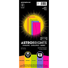 Astrobrights Color Envelopes 10 4 18