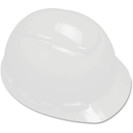 3M H700 Series Ratchet Suspension Hard Hat - Adjustable Ratchet, Comfortable, Non-vented, Lightweight, Adjustable Height - Head, Welding Sparks Protection - High-density Polyethylene (HDPE), Plastic - White - 1 / Each