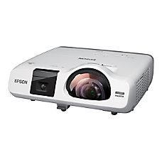 Epson BrightLink Short Throw LCD Projector