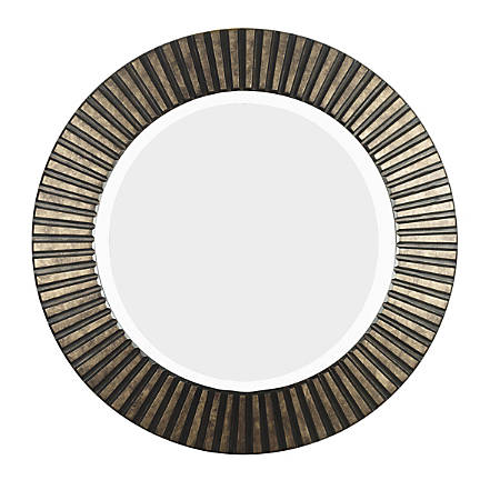 "Kenroy Home Wall Mirror, North Beach, 34""H x 34""W x 2""D, Bronze"