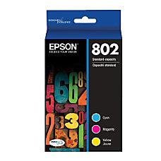 Epson DuraBrite T802520 S CyanMagentaYellow Ink